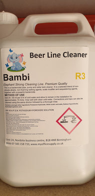 CLEAR - Beer line cleaner 5 lit