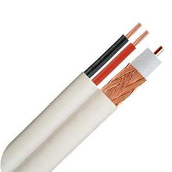 rg59 Siamese cmr 500ft. Choose Black or White - Cable Enterprise