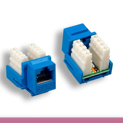 Cat.5E Keystone Jack Choose Color - Cable Enterprise
