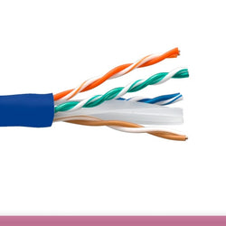 Cat6 Ethernet Bulk Cable - Solid, 550Mhz, UTP, CMR, Riser Rated, Pure Bare Copper Wire, 23AWG - Cable Enterprise