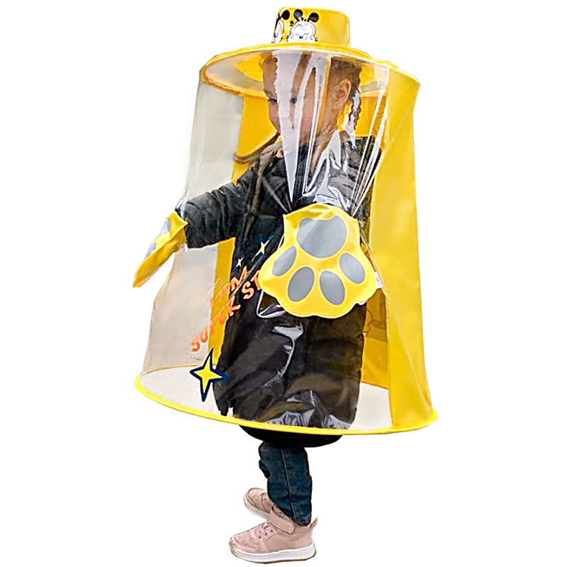 Children's Raincoat - Lemon