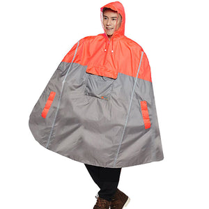 Adult's Bike Poncho - Orange