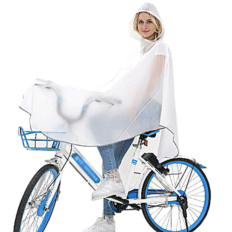 Adult's Bike Poncho - Coconut