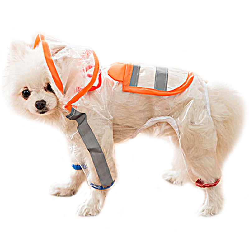 Dog Raincoat - Pumpkin