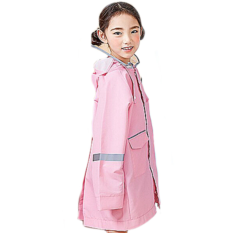 Children's Raincoat - Bubblegum