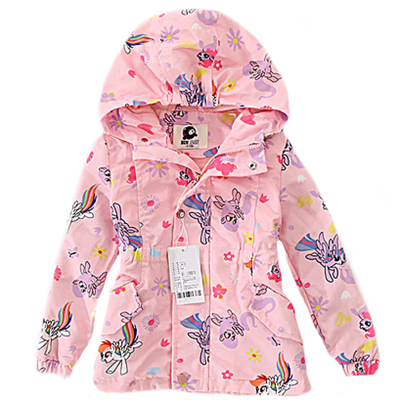 Children's Raincoat - Pink Unciorn