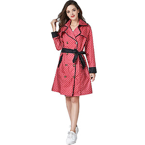 Women's Raincoat - Fuchsia