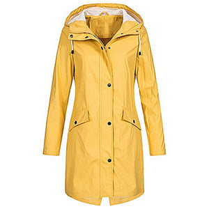 Women's Raincoat - Yellow