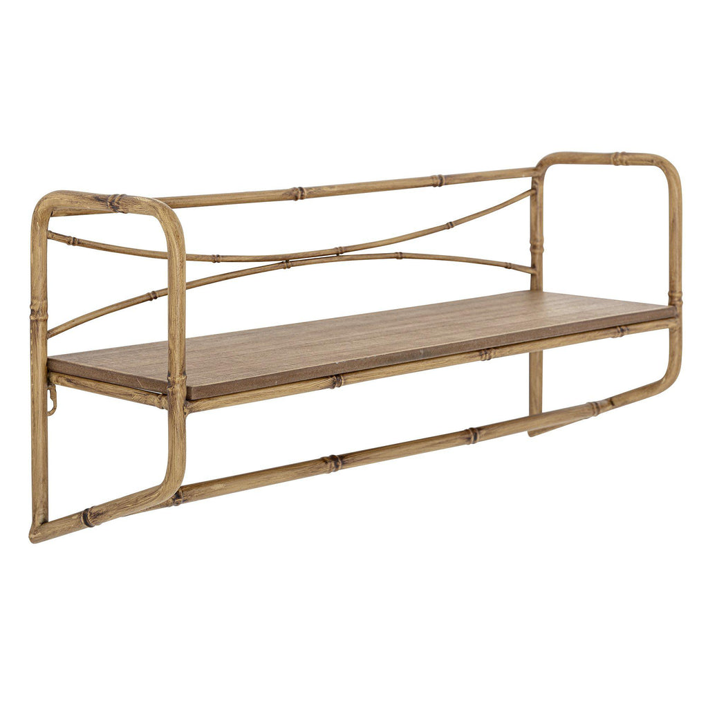 Bloomingville Metal Bamboo Wall Shelf  -  heart deco