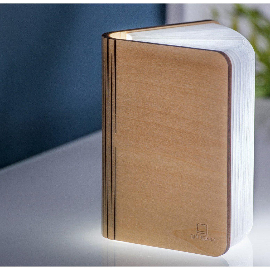 Gingko Mini Maple Smart Booklight - heart deco
