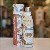 Chilly's Bottle - Emma Bridgewater Cats 500ml - heart deco