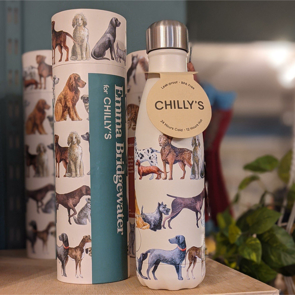 Dogs Chilly's Bottle - heart deco