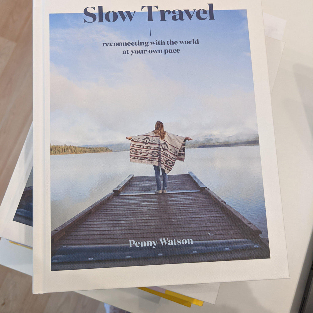 Slow Travel  Book - heart deco
