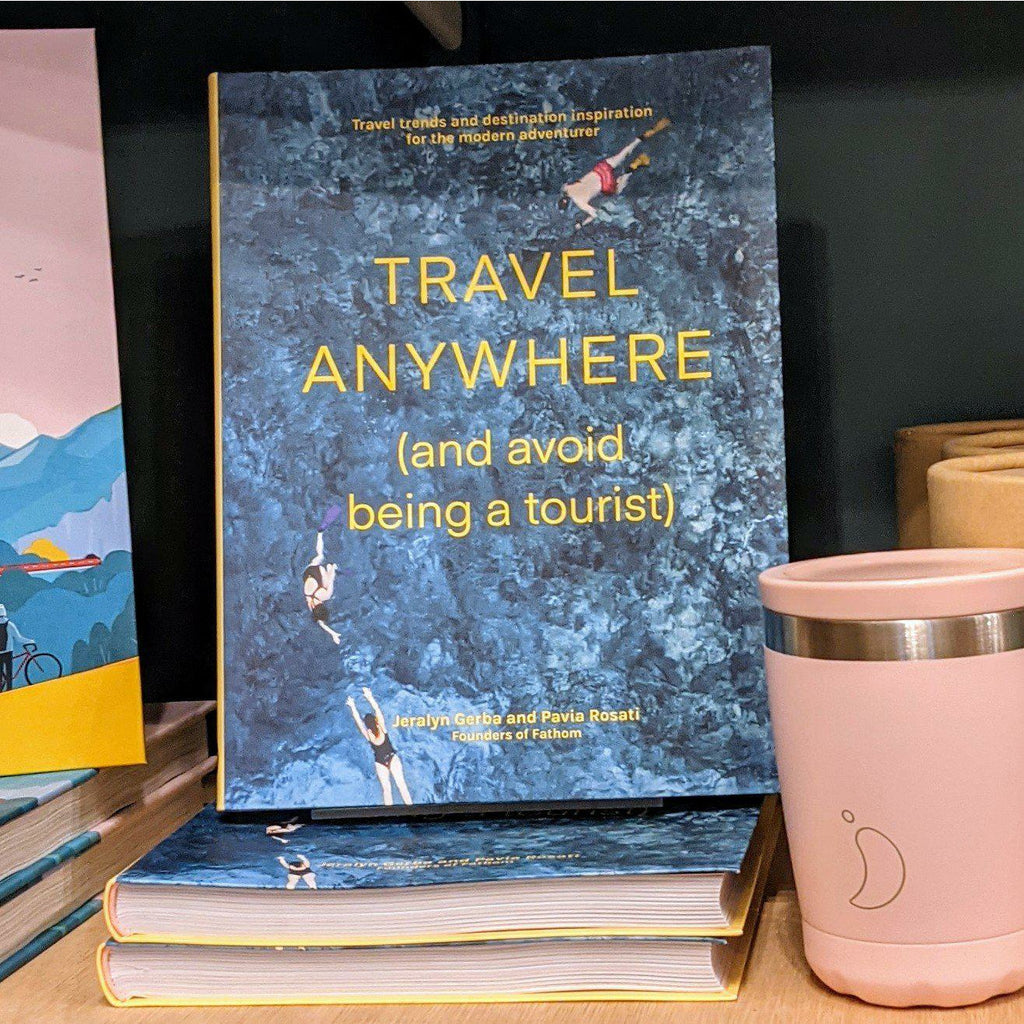 travel Anywhere (and avoid being a tourist) - heart deco