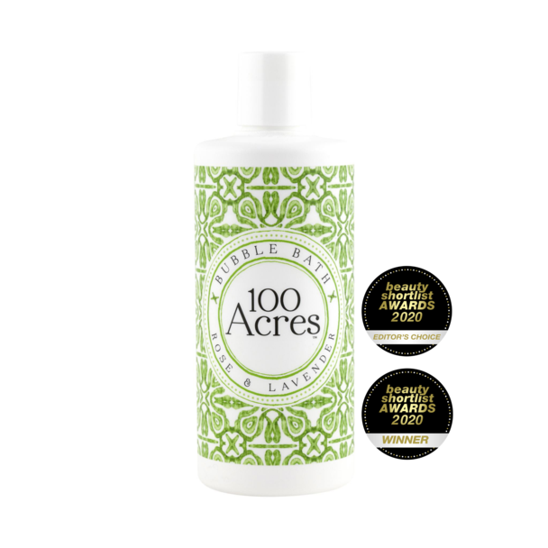 100 Acres Bubble Bath - heart deco
