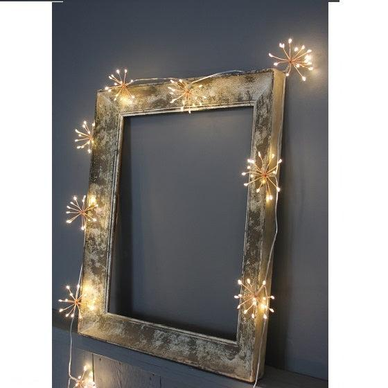 Starburst Chain Lights - Copper