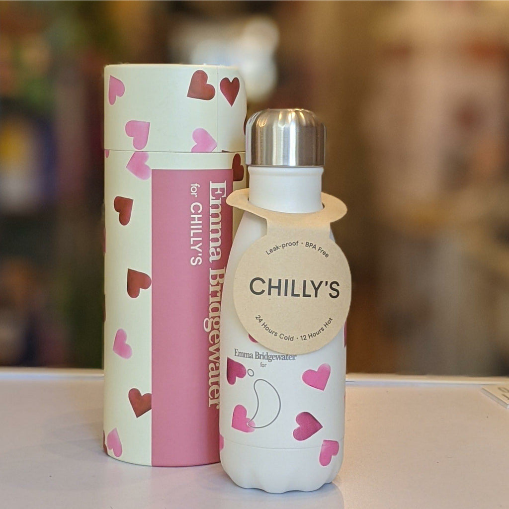 Chilly's Bottle - Emma Bridgewater Hearts 260ml - heart deco