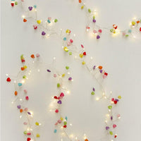 Hearts String Lights- Battery-heart deco