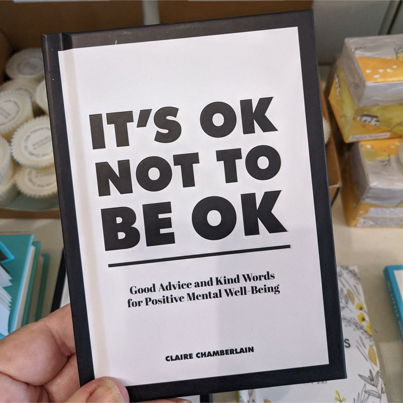 Its Ok not to be OK - heart deco