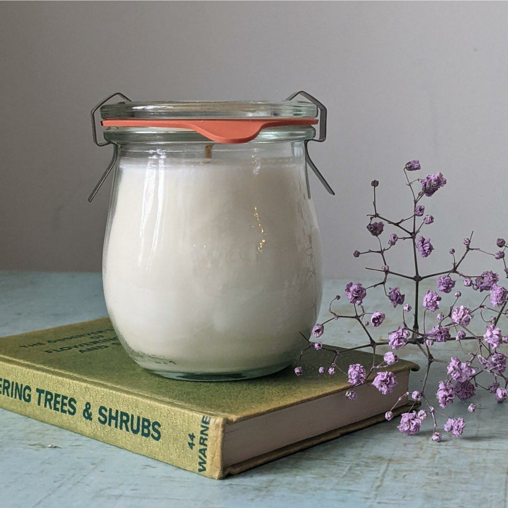 Botanical Lavender and Petitgrain Weck Jar Candle