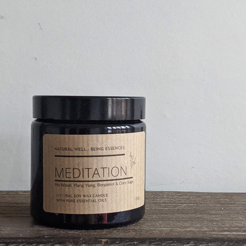 Meditation Essential Oil Blend Candle