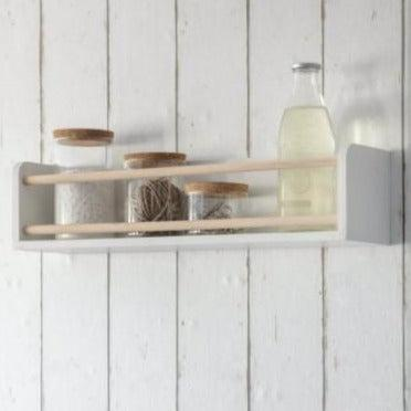 Melcombe Bottle Shelf- heart deco