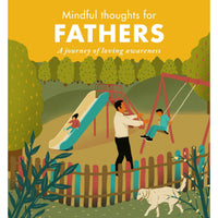 mindful thoughts for fathers - heart deco