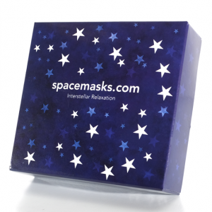 Spacemask Self Heating Facemasks - heart deco
