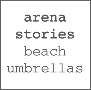 arena stories beach umbrellas sombrillas de playa algodón orgánico made in spain verano summer