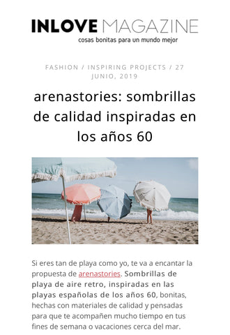 arena stories en inlove magazine