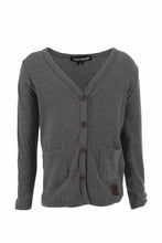 Load image into Gallery viewer, Dark grey Marle Signature Cardigan