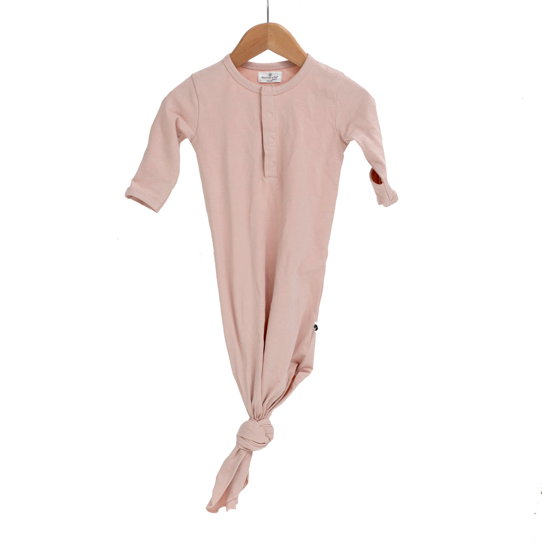 Baby Sleep Gown - Dusty Rose