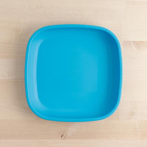 RE-PLAY SMALL FLAT PLATE - SKY BLUE