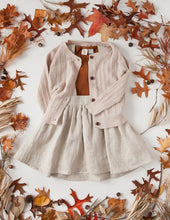Load image into Gallery viewer, Penny Light Cotton Knit Cardigan - Rose Cream