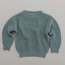 Load image into Gallery viewer, CHUNKY KNIT SWEATER - ORGANIC COTTON - MILLEU