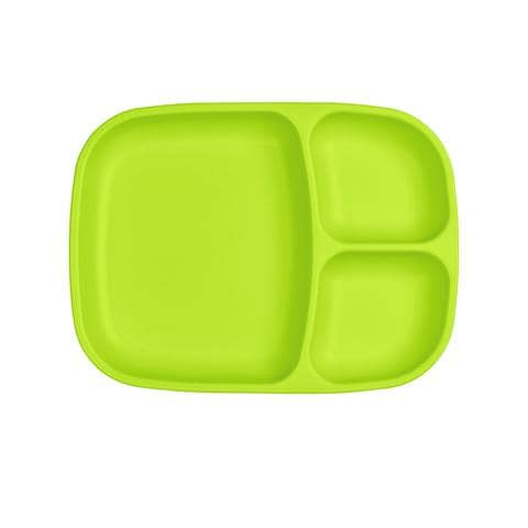 RE-PLAY DIVIDED PLATE - GREEN
