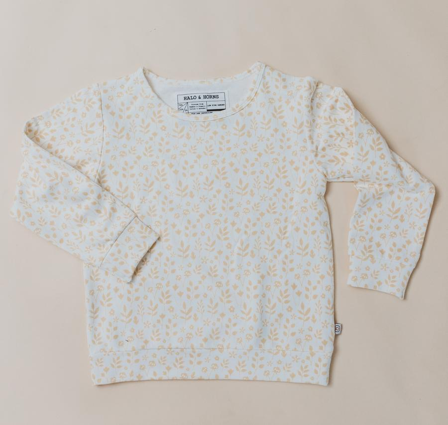 PULLOVER - BAMBOO FRENCH TERRY - MEADOW