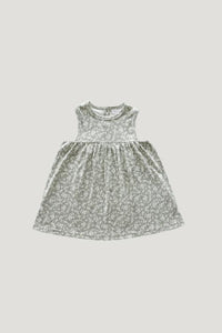 Organic Cotton Sleeveless Dress - Sadie Floral