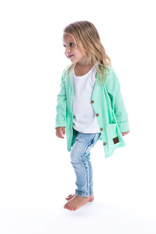 Spearmint Signature Cardigan