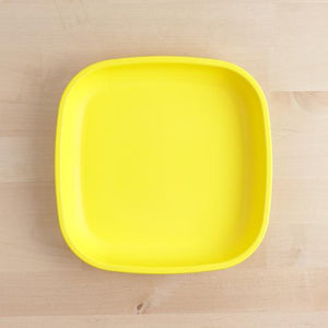RE-PLAY SMALL FLAT PLATE - YELLOW