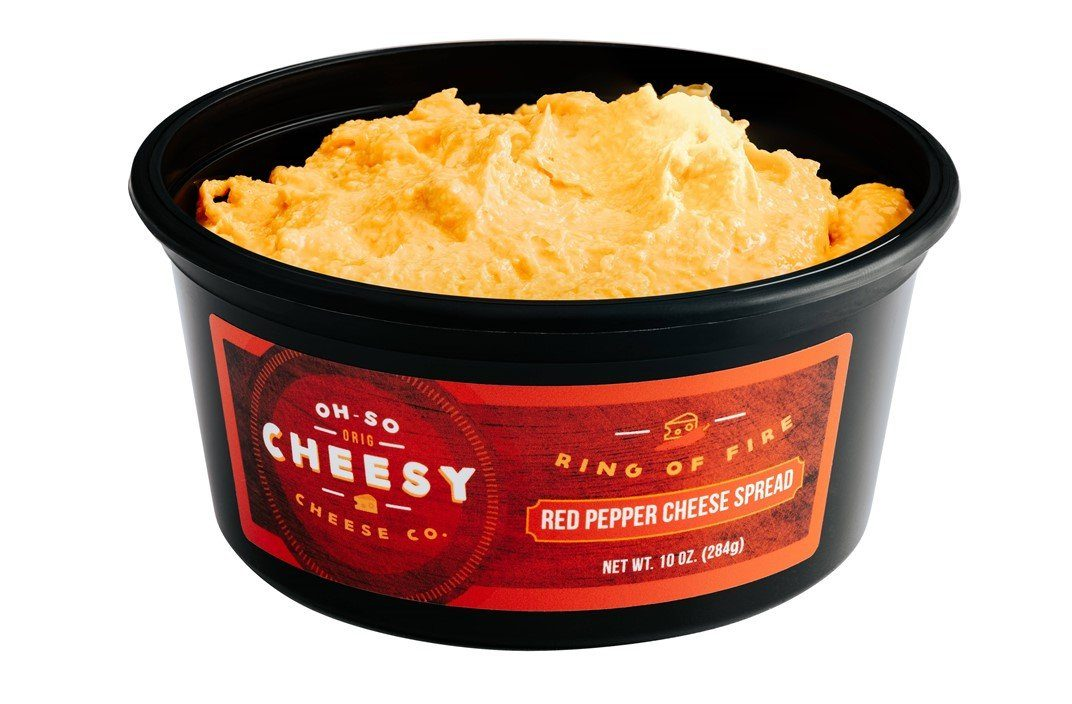 Ring of Fire<h5>(Red Pepper Cheese Spread)</h5>