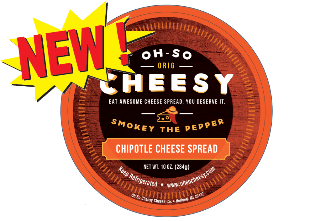 NEW! Smokey the Pepper<h5>(Chipotle Cheese Spread)</h5>