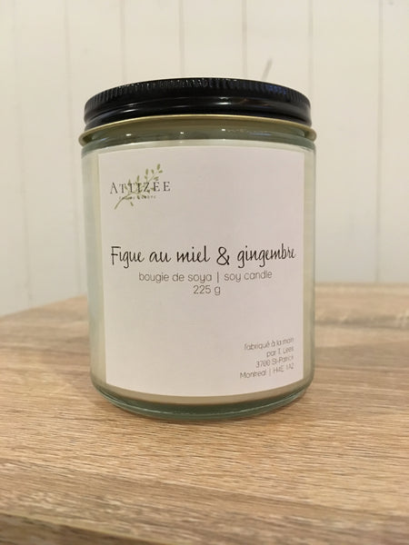 Bougie Figue au miel & gingembre