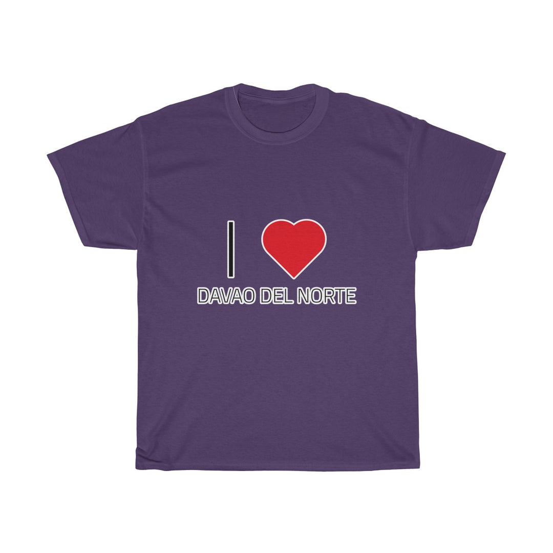 I ❤️ DAVAO DEL NORTE | Unisex Heavy Cotton Tee