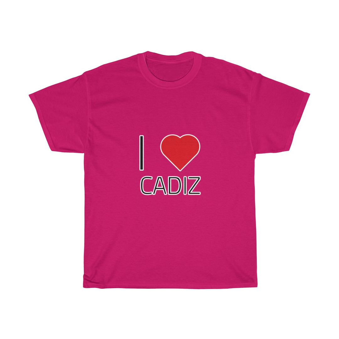I ❤️ CADIZ | Unisex Heavy Cotton Tee