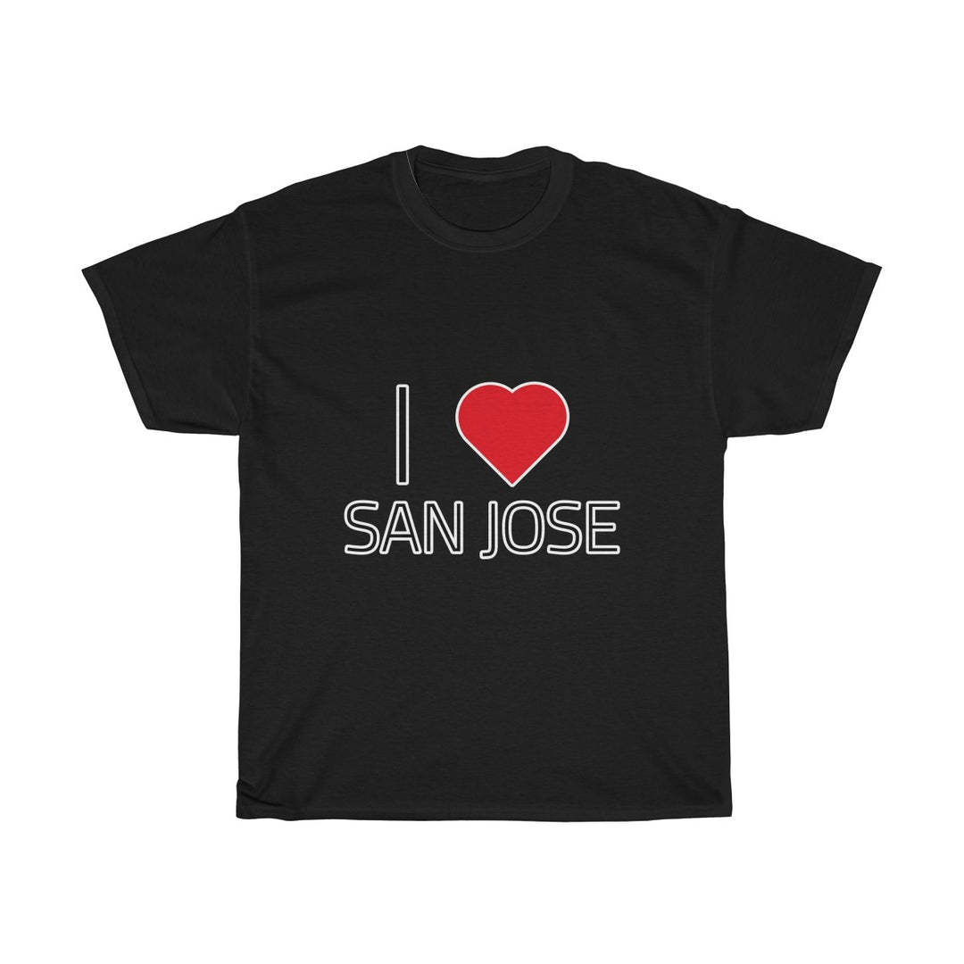 I ❤️ SAN JOSE | Unisex Heavy Cotton Tee