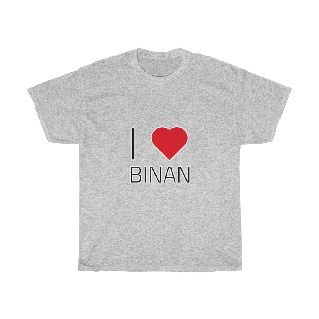 I ❤️ BINAN | Unisex Heavy Cotton Tee