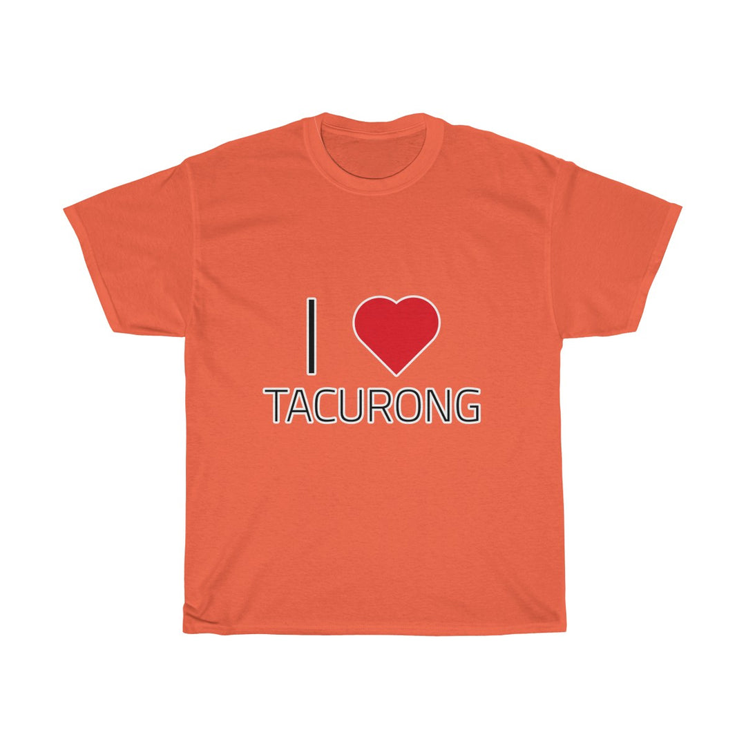 I ❤️ TACURONG | Unisex Heavy Cotton Tee