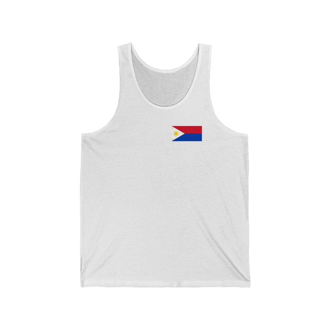 The Philippines Flag (War) | Unisex Jersey Tank