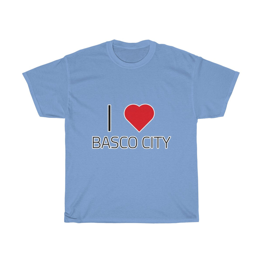 I ❤️ BASCO CITY | Unisex Heavy Cotton Tee